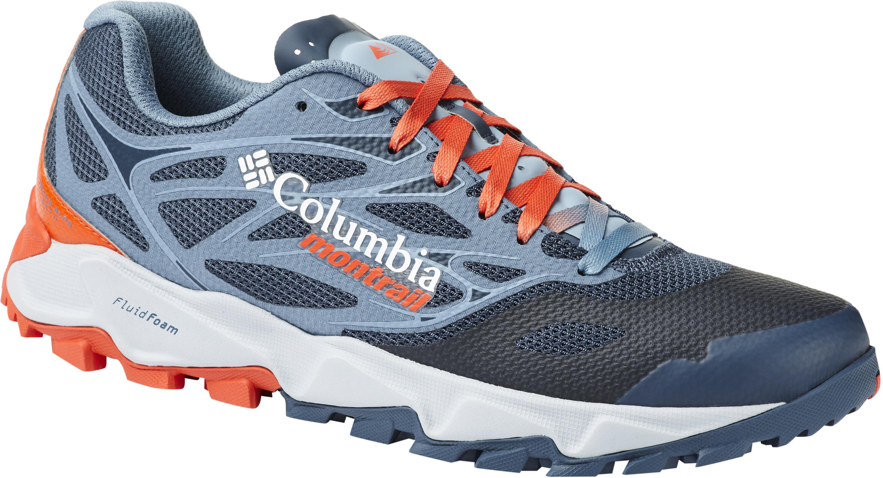 34d3eb86a99 Columbia Trans Alps F.K.T. II Hardloopschoenen Heren oranje/blauw I ...